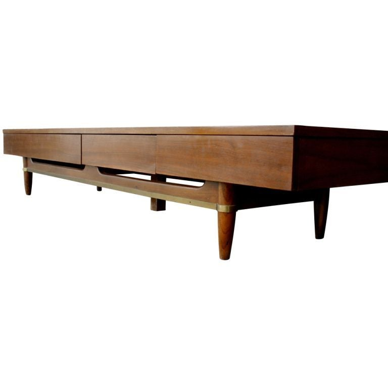 dania collection coffee table bench by martinsville at 1stdibs