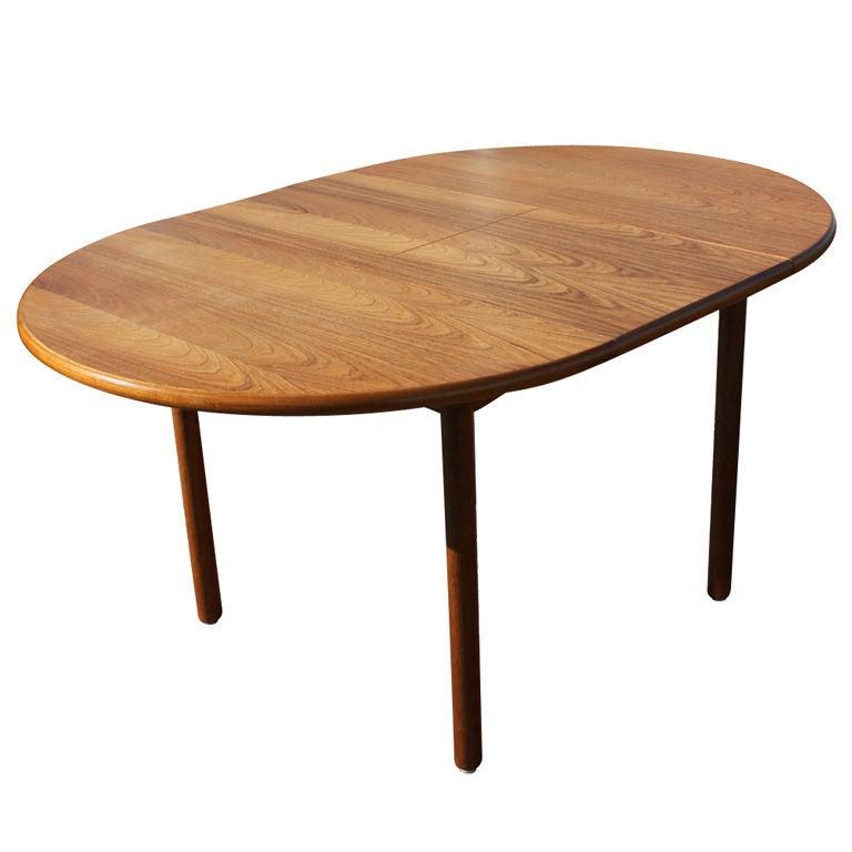 Lem Senge Teak Danish Extension Dining Table