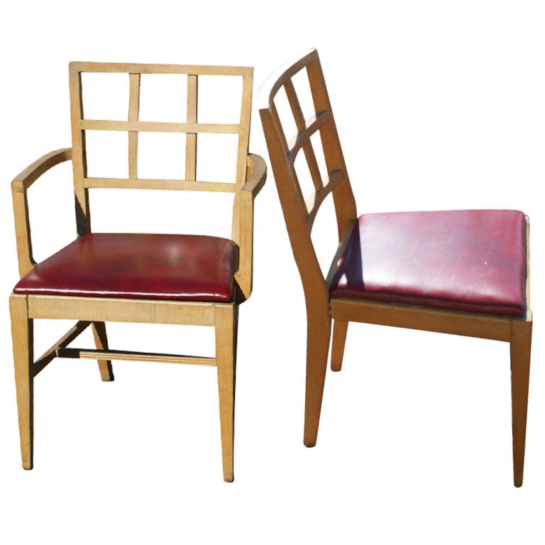 Two Robsjohn Gibbings For Widdicomb Dining Chairs
