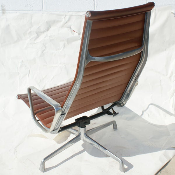 Eames For Herman Miller Aluminum Group Lounge Chair For