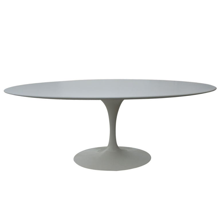 Eero Saarinen For Knoll Oval Laminate Dining Table at 1stdibs : 867112977908752 from www.1stdibs.com size 768 x 768 jpeg 11kB