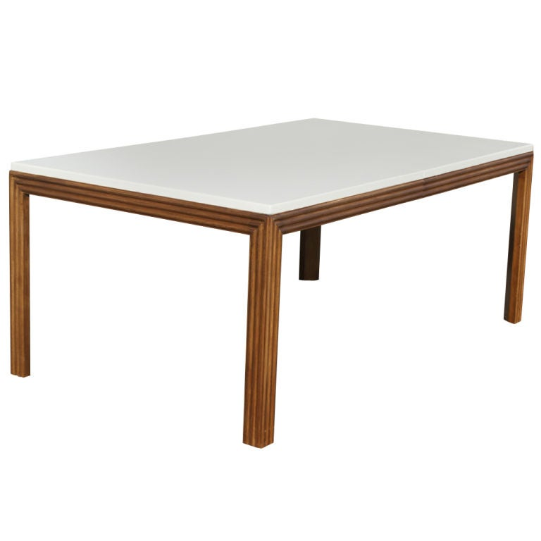 Paul Frankl For Johnson Furniture Cork Extension Dining