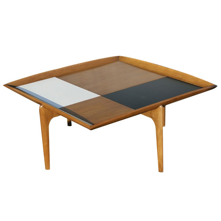 Mid Century Coffee Table John Keal For Brown Saltman At: John Keal For Brown Saltman Coffee Table