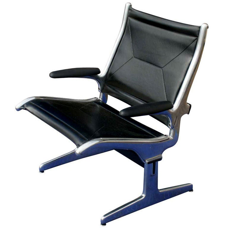 Eames For Herman Miller Tandem Seating Sling Chair