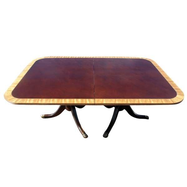 Henredon Walnut And Mahogany Dining Conference Table For  : 867112992622852 from www.1stdibs.com size 600 x 600 jpeg 16kB