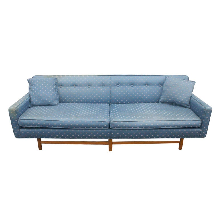 Antique Sofa Reupholstery Cost: Vintage Mid Century Harvey Probber Sofa For Sale At 1stdibs