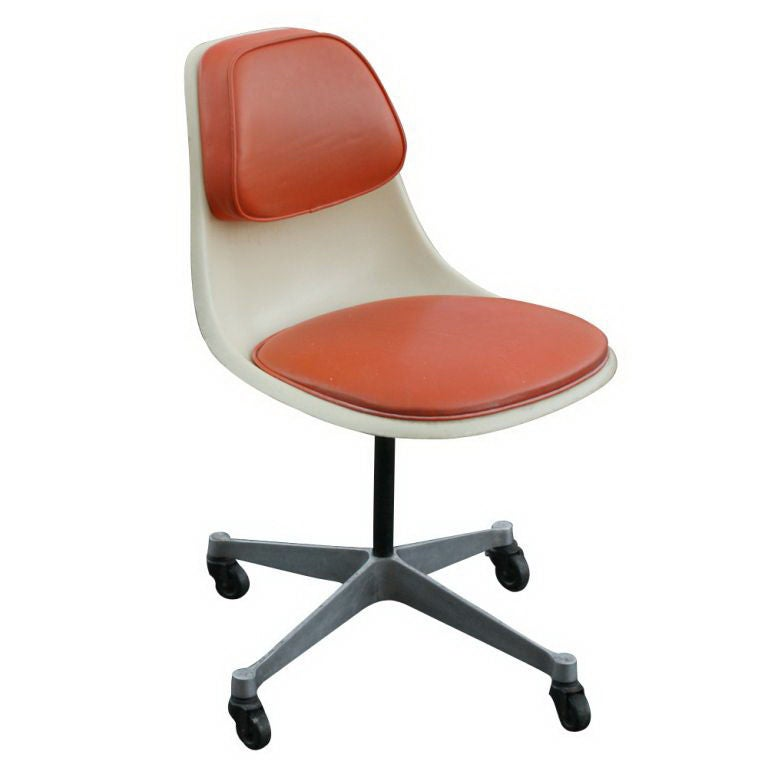 Rare Eames For Herman Miller Fiberglass Chair at 1stdibs