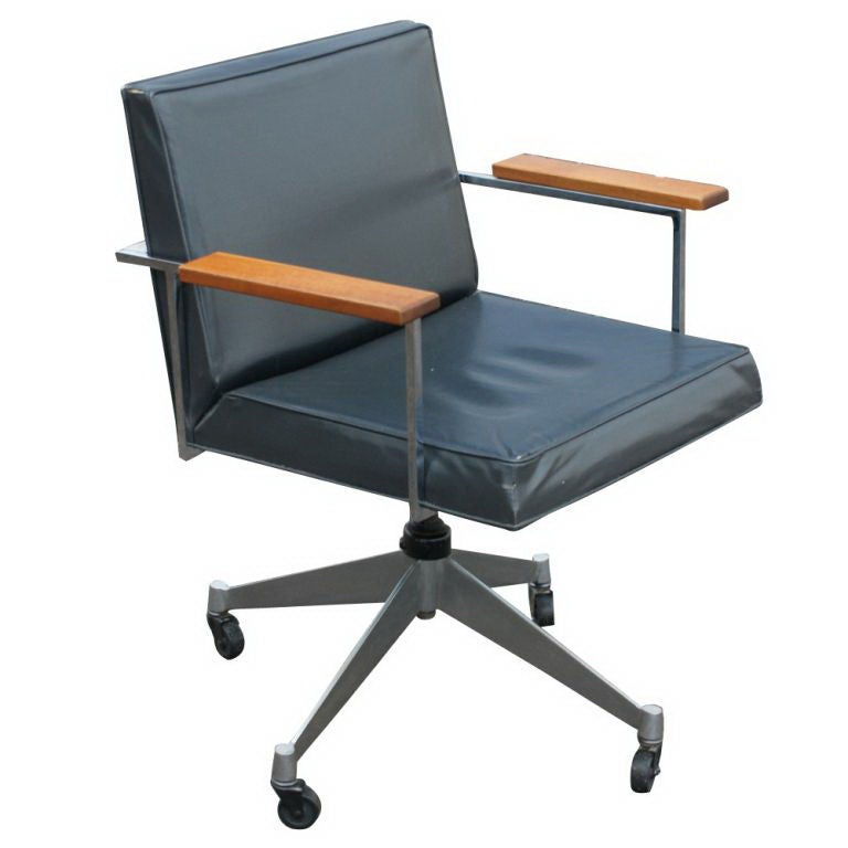 Rare George Nelson For Herman Miller Desk Chair At 1stdibs