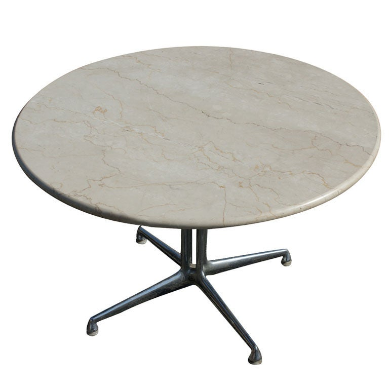 Eames For Herman Miller Marble LaFonda Coffee Table at 1stdibs