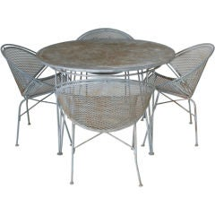 Salterini Outdoor Table And Four Chairs