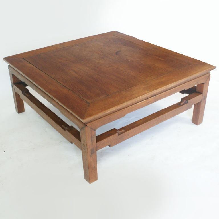 Chinese Wood Table ~ Antique chinese yumu wood coffee table for sale at stdibs