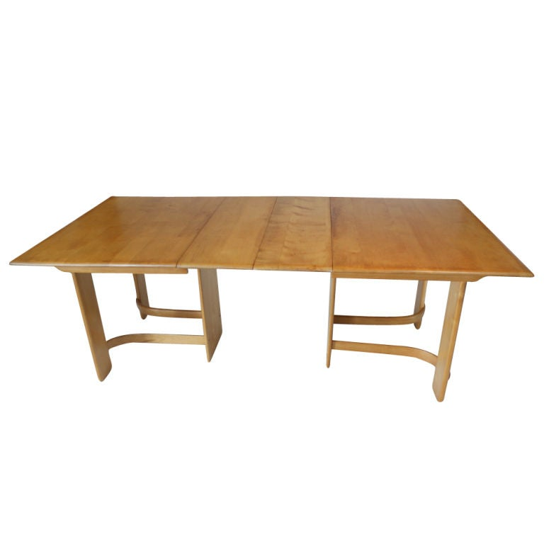 art deco gilbert rohde for heywood wakefield dining table