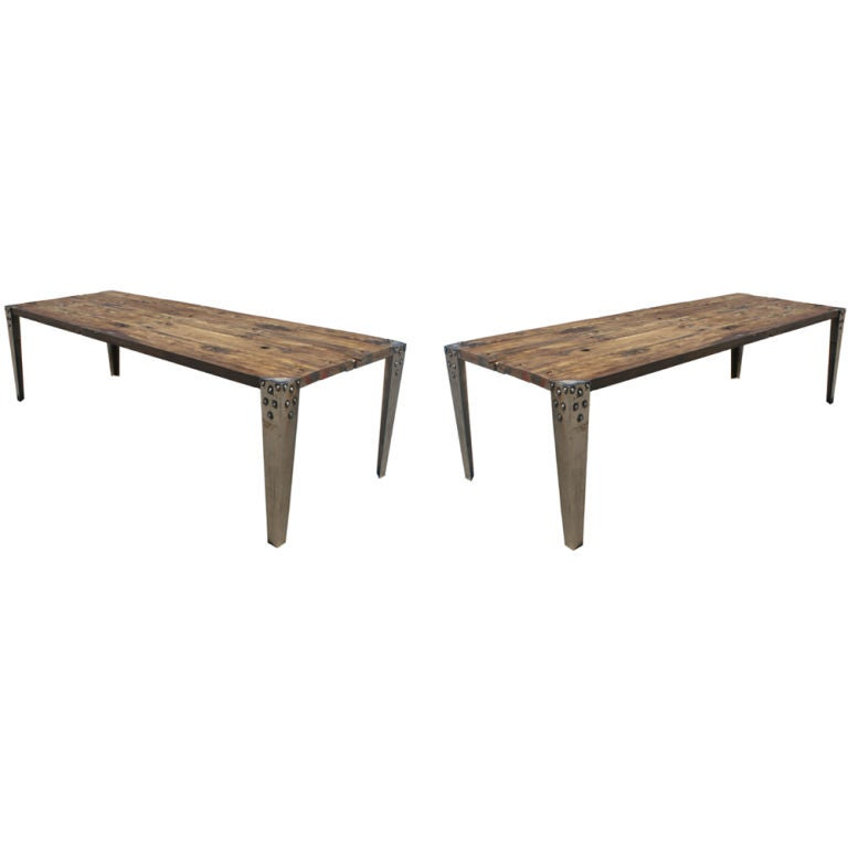 Long French Industrial Age Table at 1stdibs : 867113069676893 from 1stdibs.com size 768 x 768 jpeg 20kB