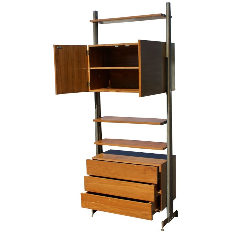 Free Standing Wall Unit Or Room Divider At 1stdibs