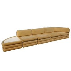 Milo Baughman For Thayer Coggin Five Piece Sectional