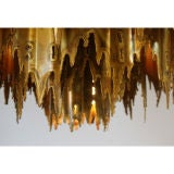 Brutalist Chandelier by Harry Weese thumbnail 4