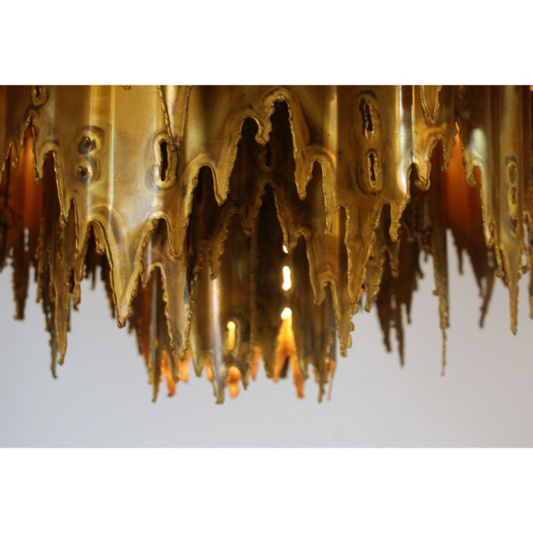 Brutalist Chandelier By Harry Weese For Sale At 1stdibs