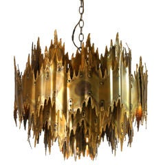 Brutalist Chandelier by Harry Weese thumbnail 1