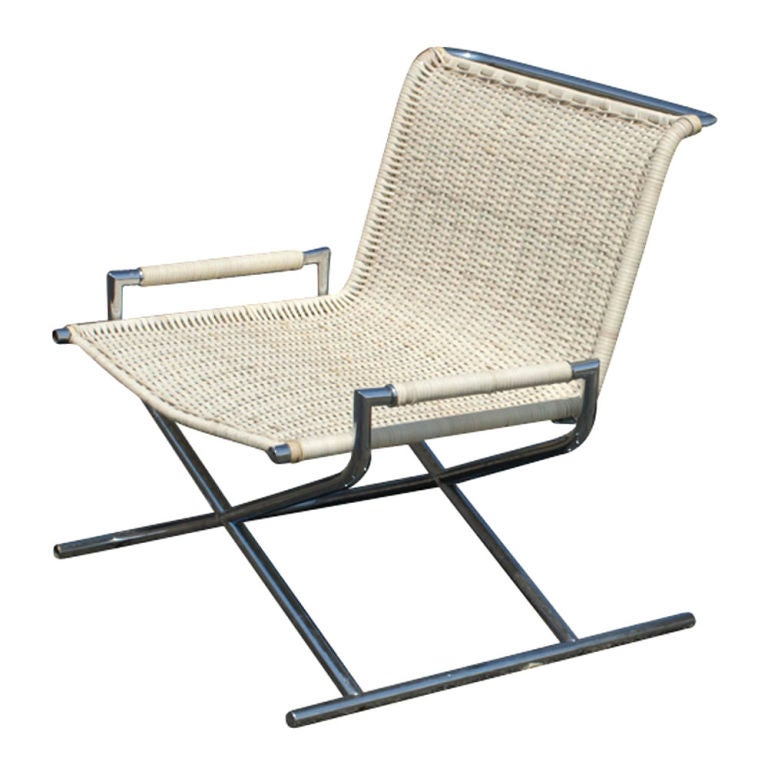 Ward Bennett Sled Lounge Chair image 2