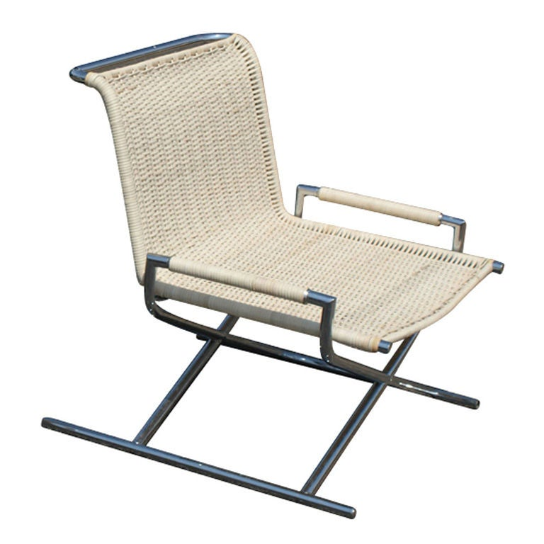 Ward Bennett Sled Lounge Chair