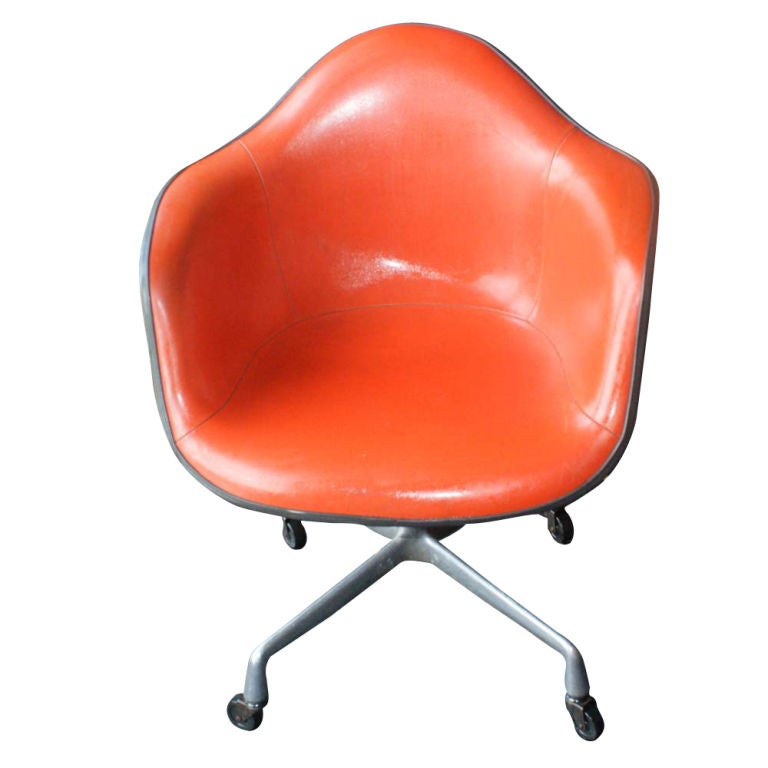Set of 6 vintage herman miller eames shell armchairs at 1stdibs - Vintage herman miller ...