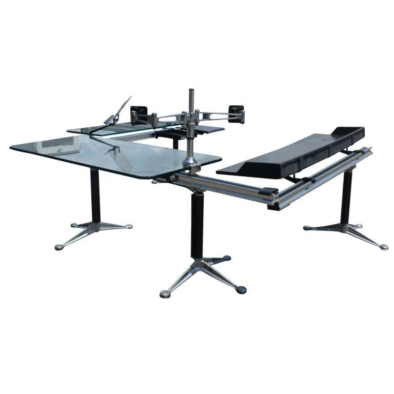 herman miller office desk. bruce burdick for herman miller office system 2 desk