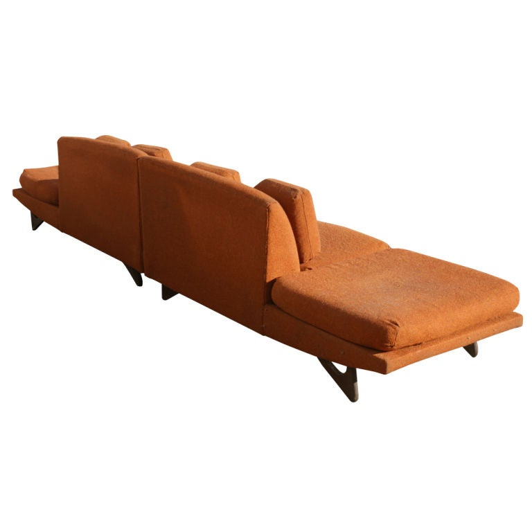 American Adrian Pearsall For Craft Associates Sectional Sofa  For Sale