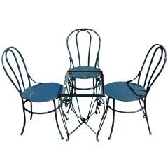 Outdoor Four Piece Cafe Set