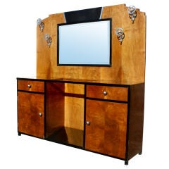 Large 1980s glass display cabinet for sale at 1stdibs for Bathroom vanity display for sale