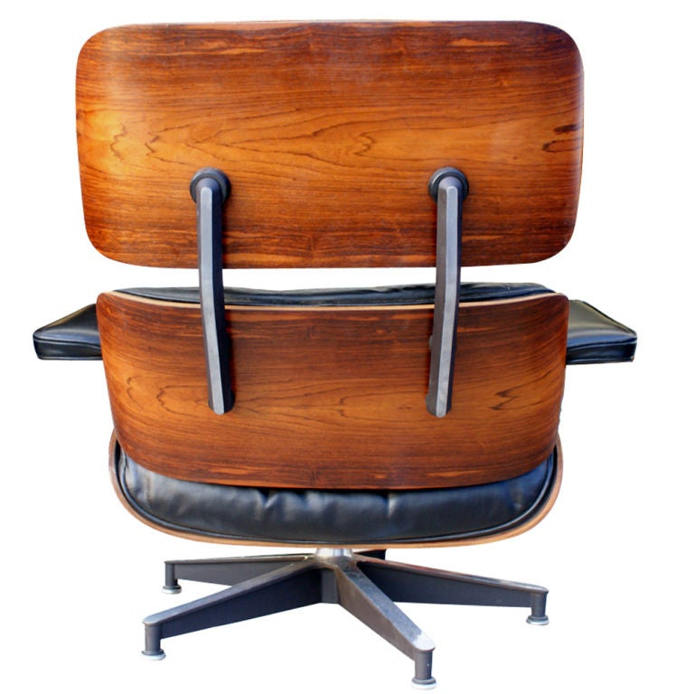 American  Herman Miller Eames Lounge and Ottoman For Sale