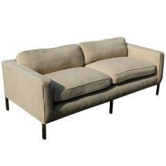 Vintage Knoll Style Settee Sofa