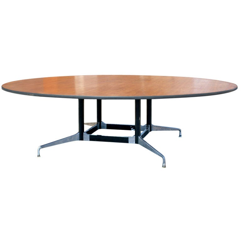 Eames for herman miller round eight foot conference table for 10 foot round table