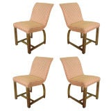 Four Art Deco Gilbert Rohde For Heywood Wakefield Dining Chairs