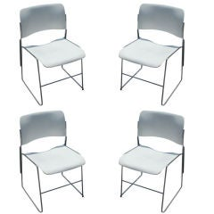 David Rowland 40/4 Stacking Chairs