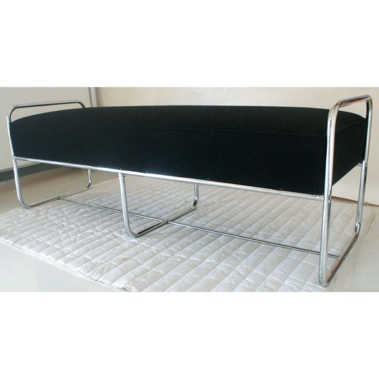 Art deco wolfgang hoffmann daybed bench at 1stdibs Daybed bench