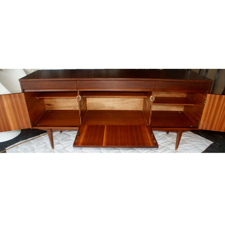 66 grange french mahogany credenza buffet cabinet with. Black Bedroom Furniture Sets. Home Design Ideas