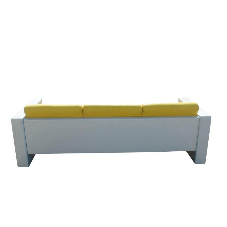Brian Kane For Metropolitan Indoor Fiberglass Sofa For