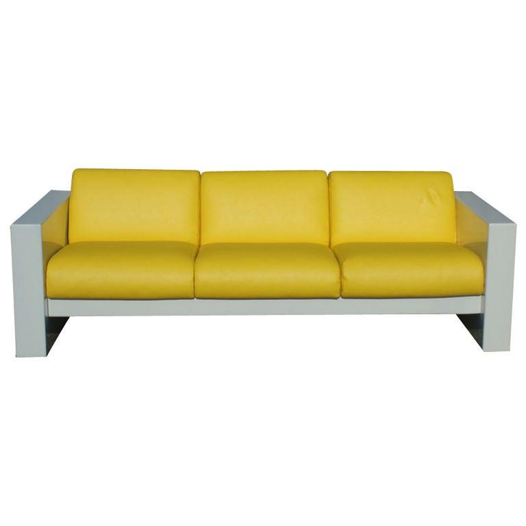 Brian Kane For Metropolitan Indoor Fiberglass Sofa