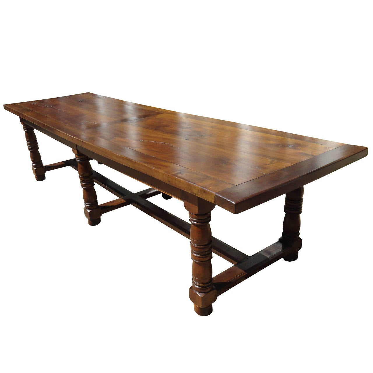 19th Century French Trestle Table from Provence at 1stdibs : 91tml from www.1stdibs.com size 1280 x 1280 jpeg 74kB