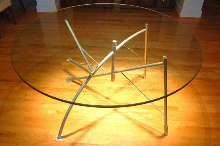 Philippe starck 39 dole melipone 39 dining table at 1stdibs for Philippe starck dining tables