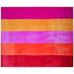 Large Room Size Woven Wool Rug a la Edward Fields