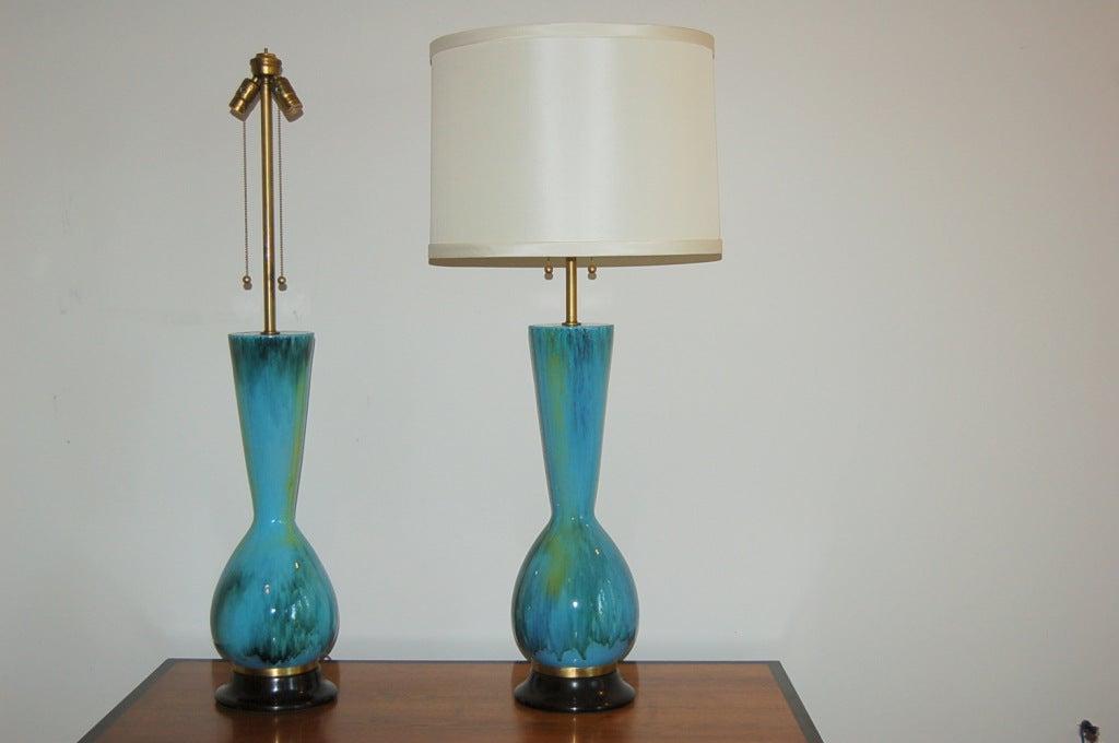 The Marbro Lamp Company - Pair of Vintage Italian Ceramic Lamps 2