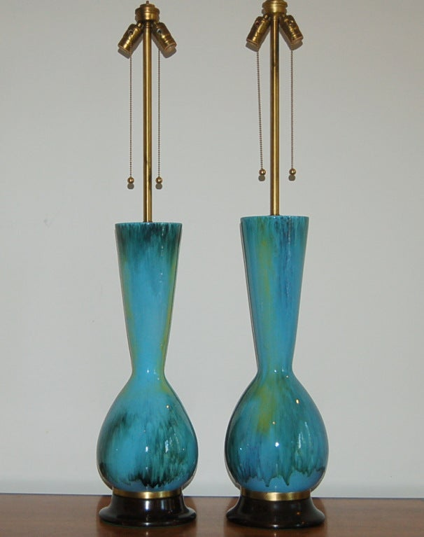 The Marbro Lamp Company - Pair of Vintage Italian Ceramic Lamps 3