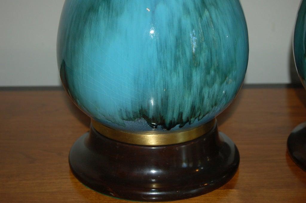 The Marbro Lamp Company - Pair of Vintage Italian Ceramic Lamps 4