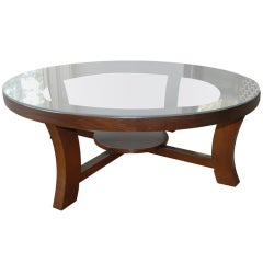 Vintage Paul Frankl Coffee Table for Brown Saltman