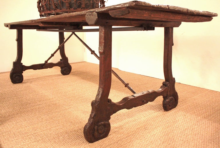 Spanish Baroque Farm Table At 1stdibs