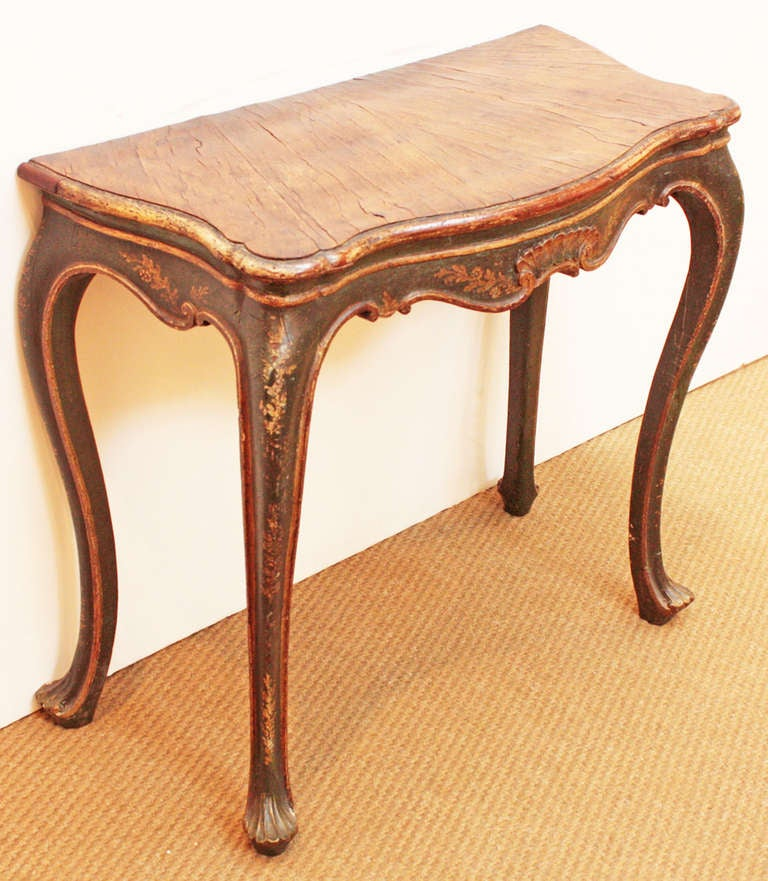 18th Century Venetian Console Table at 1stdibs