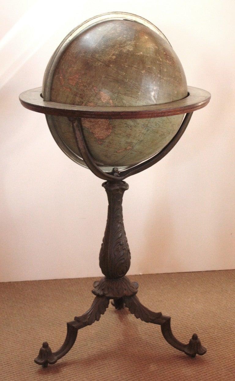 18 Inch Terrestrial Globe by W. & A. K. Johnston 2