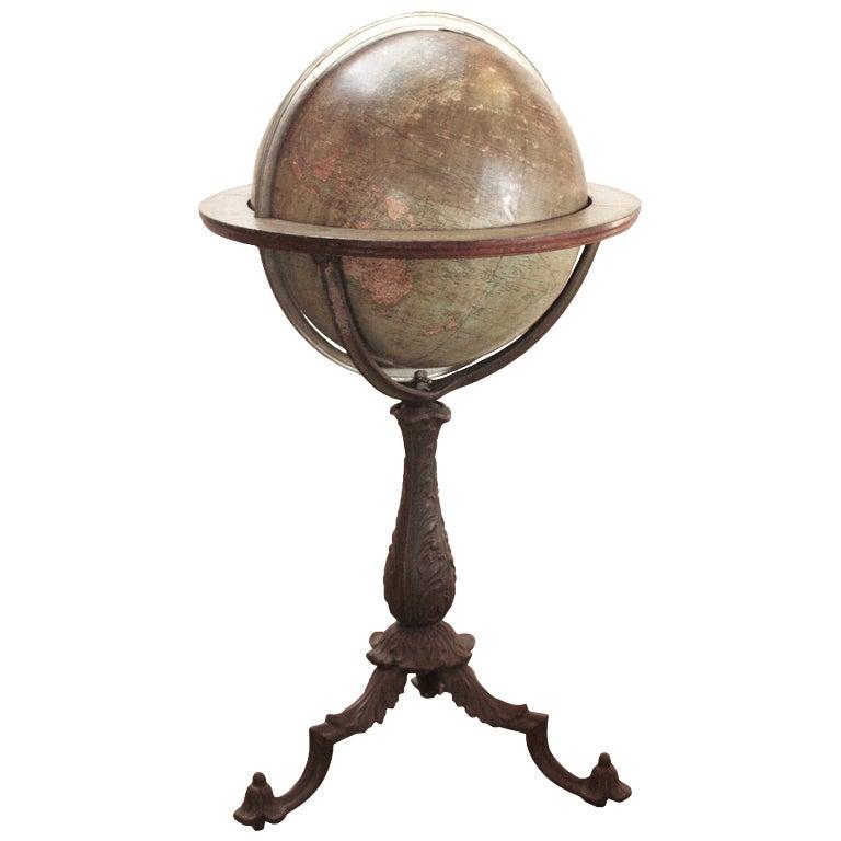 18 Inch Terrestrial Globe by W. & A. K. Johnston 1