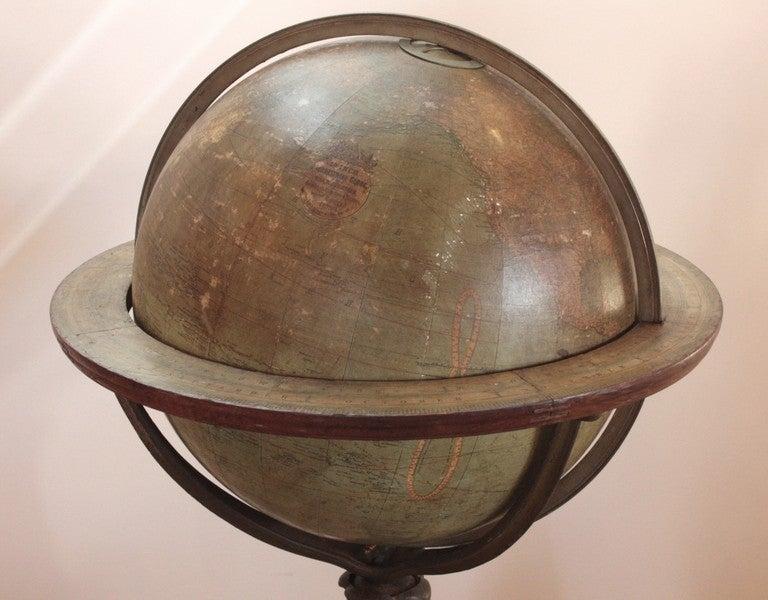 18 Inch Terrestrial Globe by W. & A. K. Johnston 3